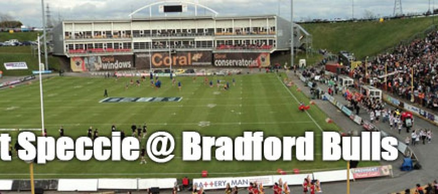 Secret Speccie: Bradford Bulls