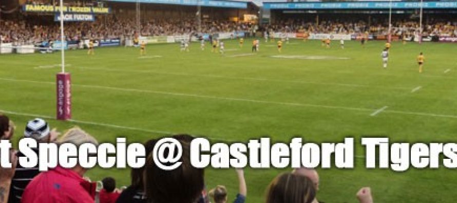Secret Speccie: Castleford Tigers