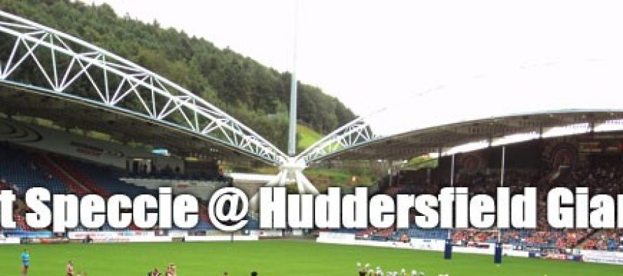 Secret Speccie: Huddersfield Giants