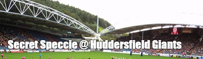 Secret Speccie - Huddersfield