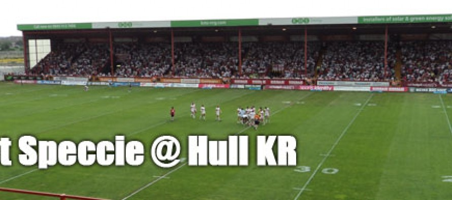 Secret Speccie: Hull Kingston Rovers