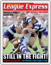League Express, Mon 5th Aug 2013