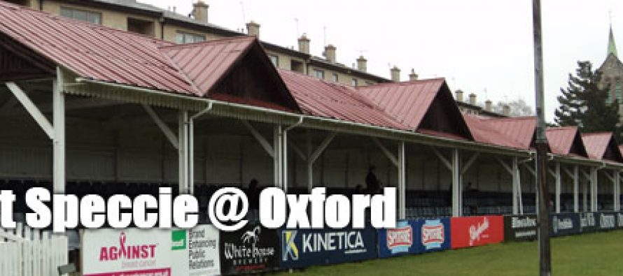 Secret Speccie: Oxford