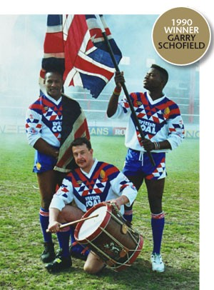 Garry Schofield beats the drum for Great Britain