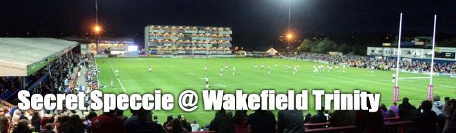 Secret Speccie - Wakefield