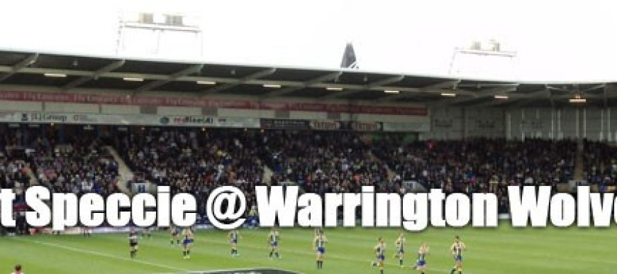 Secret Speccie: Warrington Wolves
