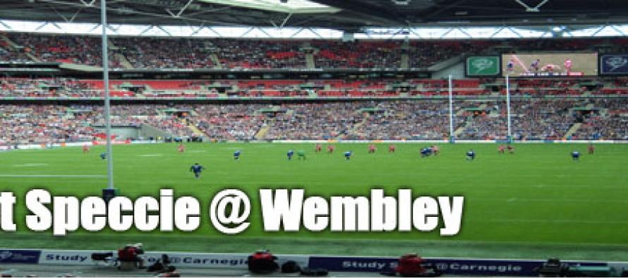 Secret Speccie: Wembley Stadium