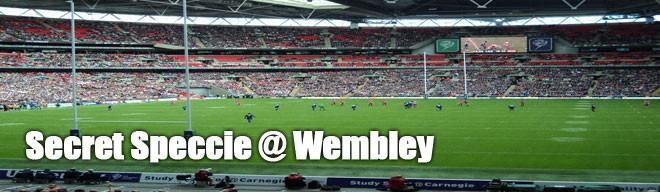 Secret Speccie - Wembley