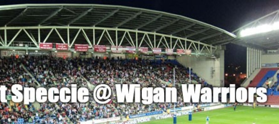 Secret Speccie: Wigan Warriors