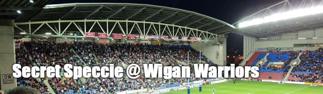 Secret Speccie - Wigan
