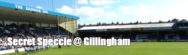 Secret Speccie: Gillingham