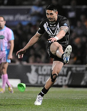 Shaun Johnson is one of the best kickers in the NRL. ©RLphotos.com