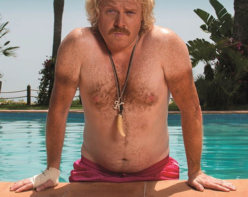 Burgess says James Graham sports a killer t-shirt tan, just like Keith Lemon, pictured. ©ITV