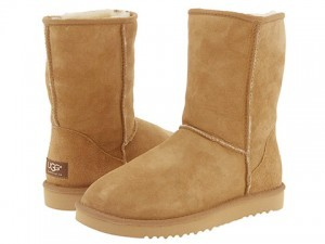 A pair of Ugg boots - Ryan Hall's favourite accessory. ©Ugg