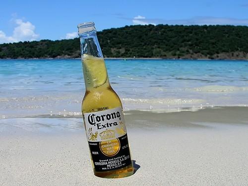 George's favourite beer, a Corona Extra. ©Corona