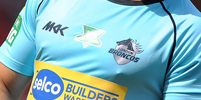 London Broncos have hit the headlines recently due to their financial woes. ©RLphotos