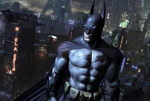 Alex Walmsley's favourite fictional character - Batman.