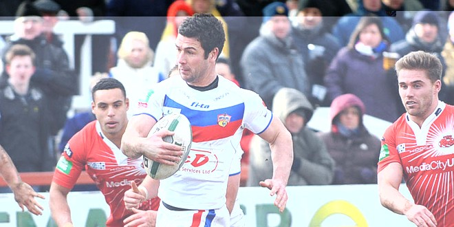 Mathers relishing 'tough' St Helens test