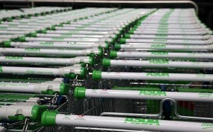 Huby's first job involved pushing trollies at Asda.