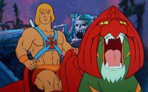 He-Man - James' favourite fictional character. Probably mine, too.
