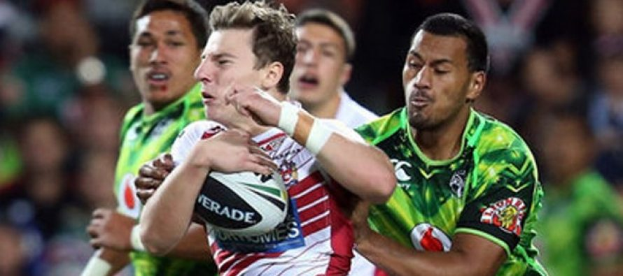 Wigan defeat New Zealand Warriors in Hamilton