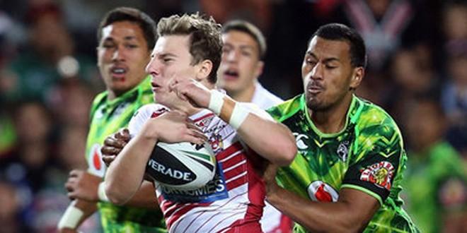 Wigan defeat New Zealand Warriors in Hamilton