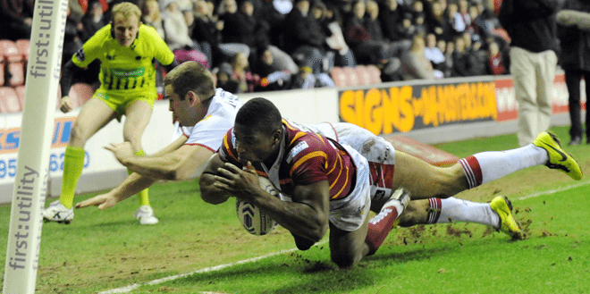Jermaine McGillvary is one of the best finishers in Super League