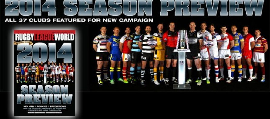 Rugby League World – 2014 Season Launch Special Issue