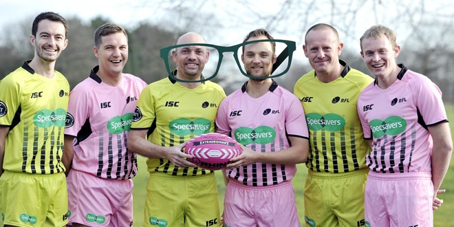 Video: Referees take on Wakefield Wildcats select side
