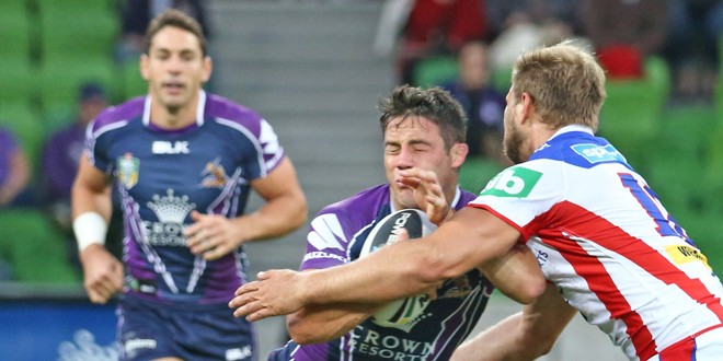 Match report: Melbourne Storm 28-20 Newcastle Knights