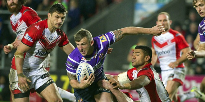 Warriors winger Manfredi loaned to Salford