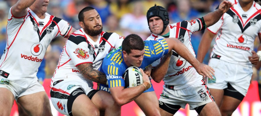 Match report: Eels steal Tomkins' thunder in NRL opener
