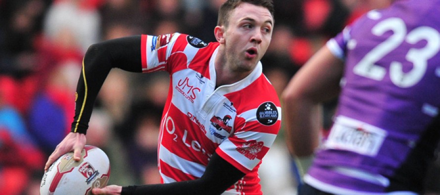 Leigh half-back Brierley makes history