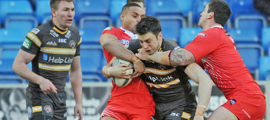 Video highlights: Salford Red Devils 23-16 Castleford Tigers