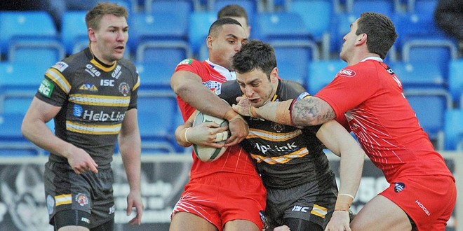 Match report: Salford Red Devils 23-16 Castleford Tigers