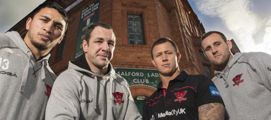 Gallery: Red Devils stars at the Salford Lads Club