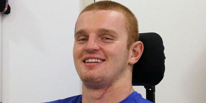 "Alex McKinnon: ""I've got a lot more movement back."""