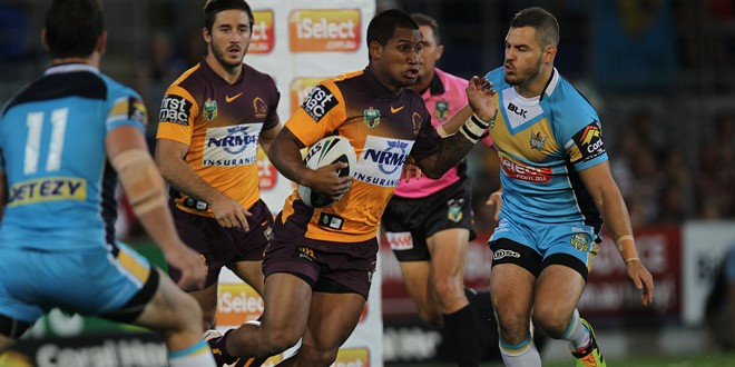 Match report: Gold Coast Titans 12-8 Brisbane Broncos