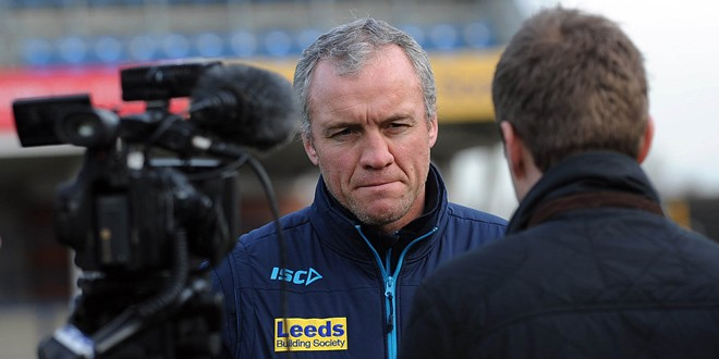 Leeds Rhinos boss knows lineup for cup final