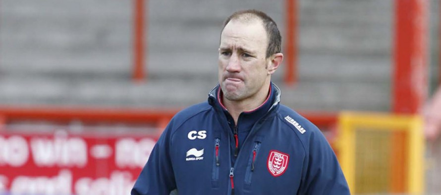 Hull KR sack coach Craig Sandercock