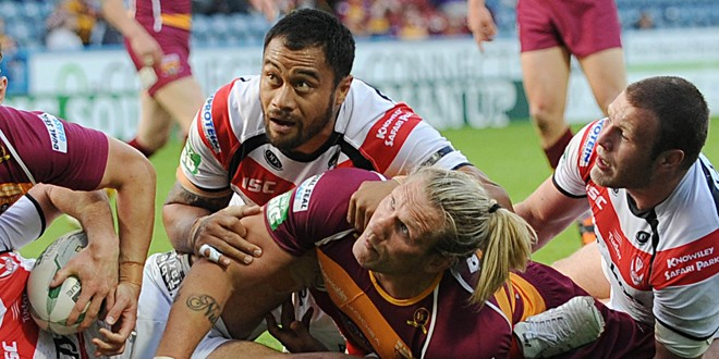 Match report: Huddersfield Giants 16-17 St Helens