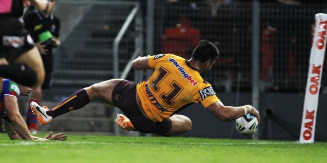Match report: Newcastle Knights 6-32 Brisbane Broncos