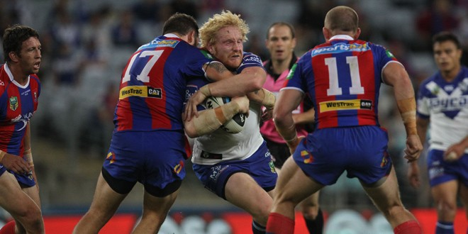 Match report: Canterbury Bulldogs 16-12 Newcastle Knights