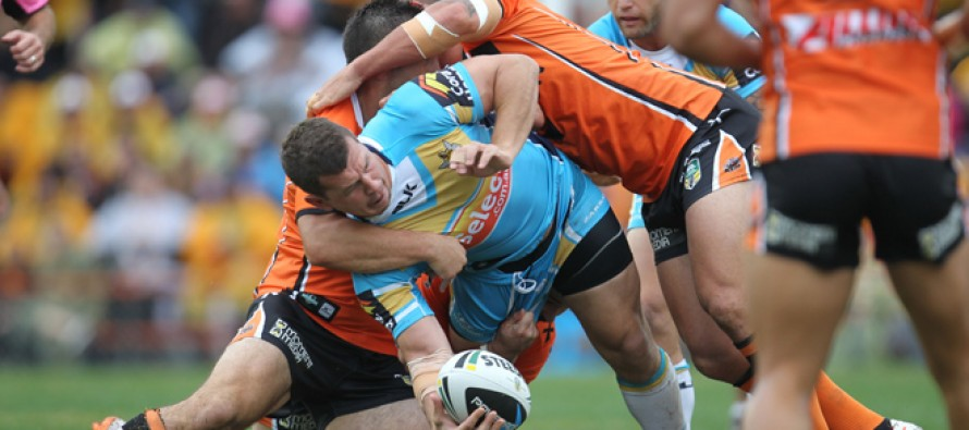 Match report: Wests Tigers 6-22 Gold Coast Titans