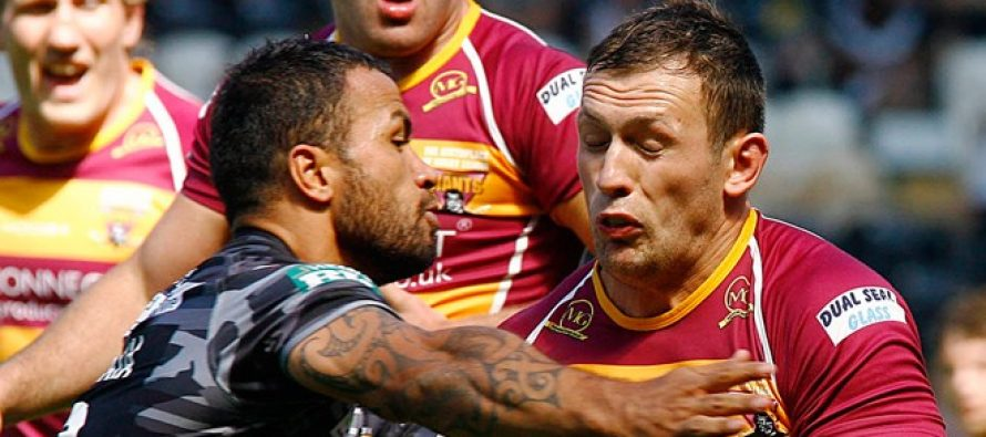 Shaun Lunt returning to top form, says Huddersfield Giants boss