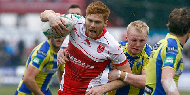 Match report: Hull Kingston Rovers 24-28 Warrington Wolves