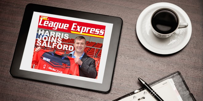 How to download the latest issue of League Express