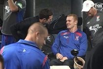 WWE star The Rock calls Newcastle Knights' Alex McKinnon