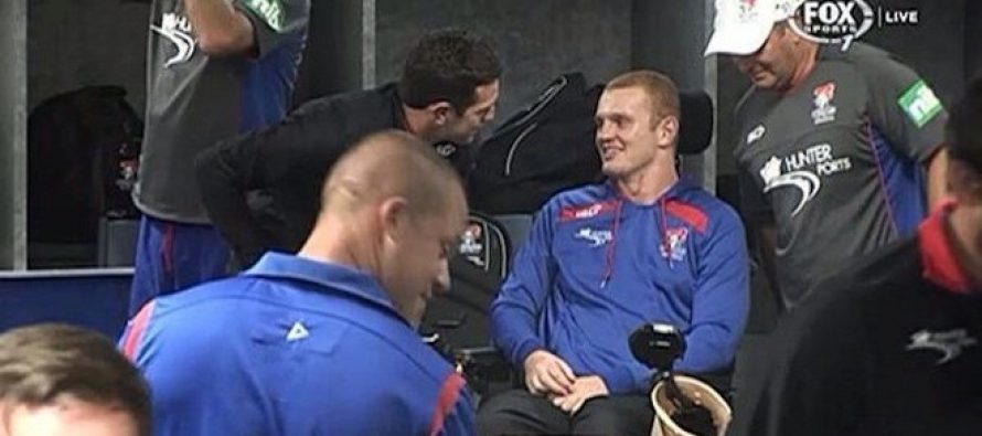Alex McKinnon surprises Newcastle team-mates