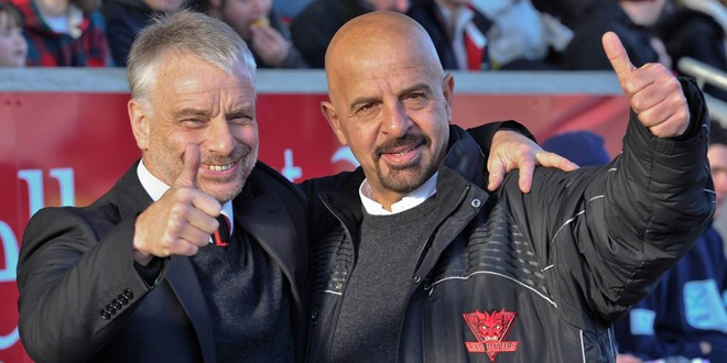 Where did it all go wrong? Koukash lost patience with Noble after only three wins in eight games. ©RLPhotos